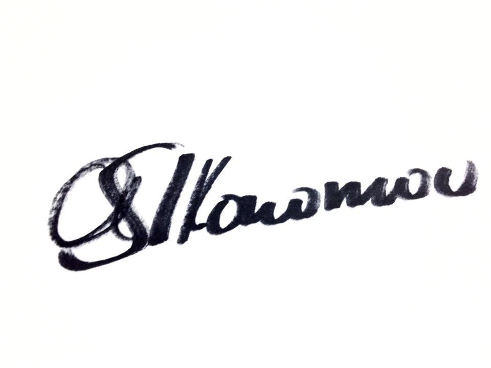 Alexandra Ikonomou's Signature