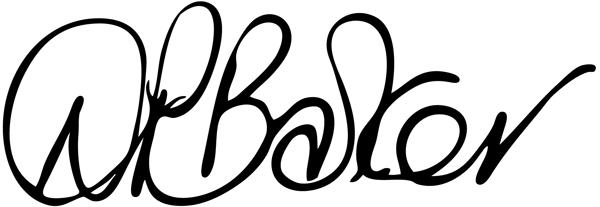 Diane Barker's Signature