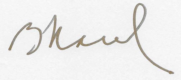 Barb Maul's Signature