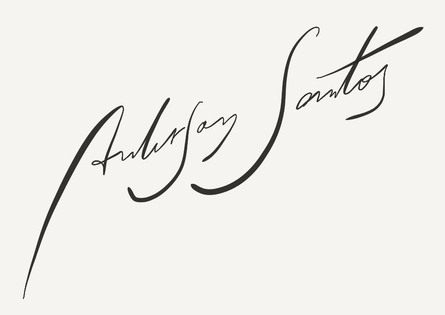 anderson santos's Signature