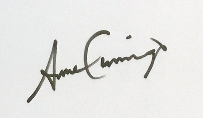 Anne Cummings's Signature