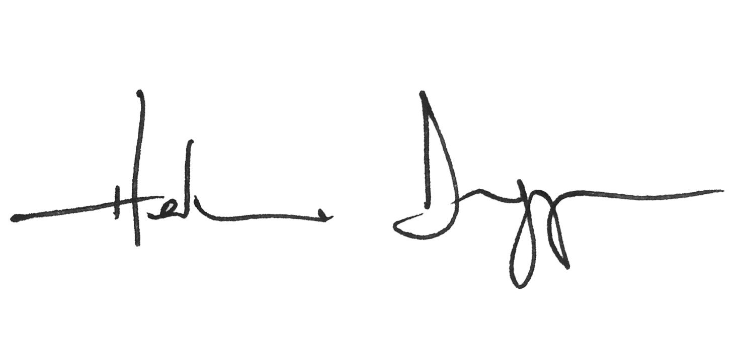 Helena Duggan's Signature