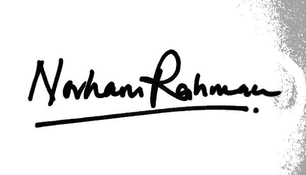 Norhani Rahman's Signature