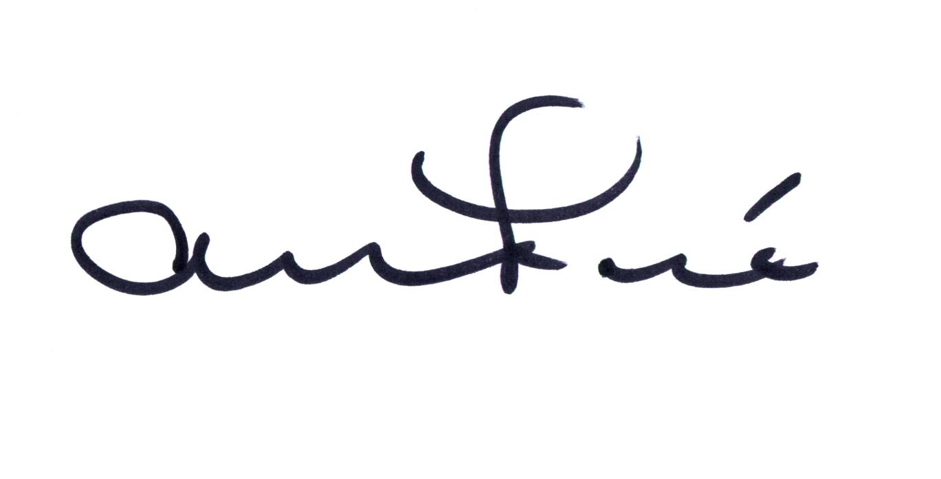 Alison Foshee's Signature