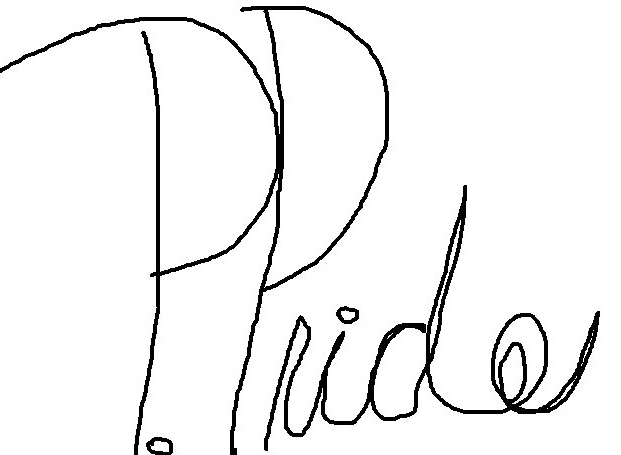 Priscilla Pride's Signature