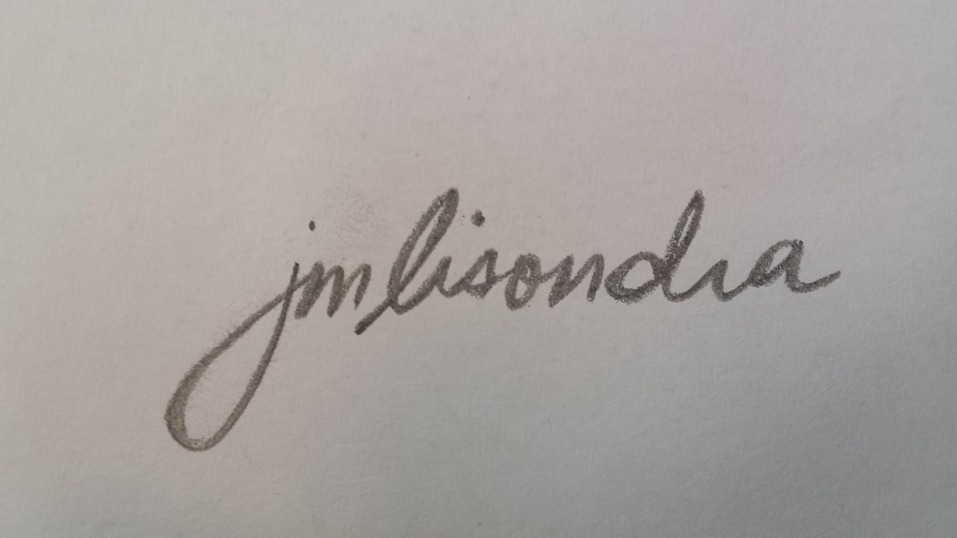 John Magne Lisondra's Signature