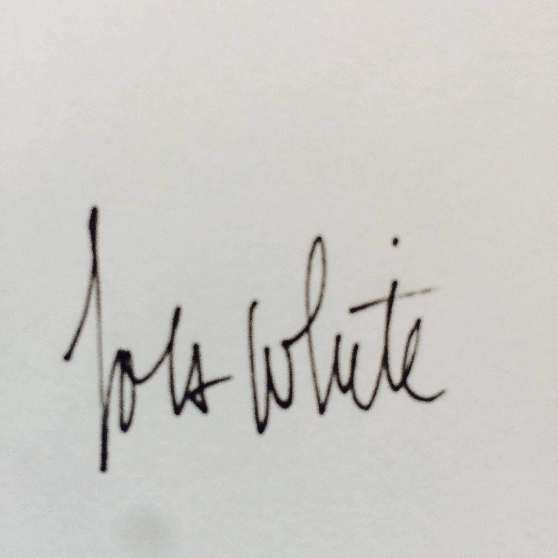 Lola White's Signature