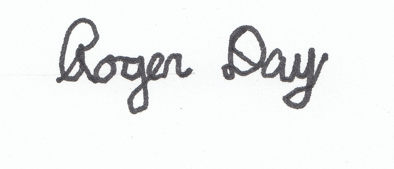 Roger Day's Signature