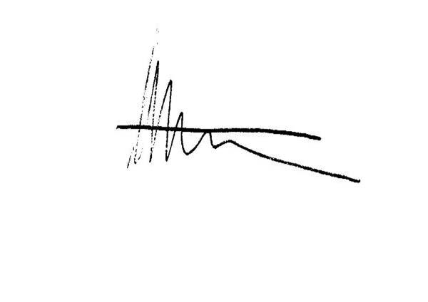 Helena Ritchie's Signature