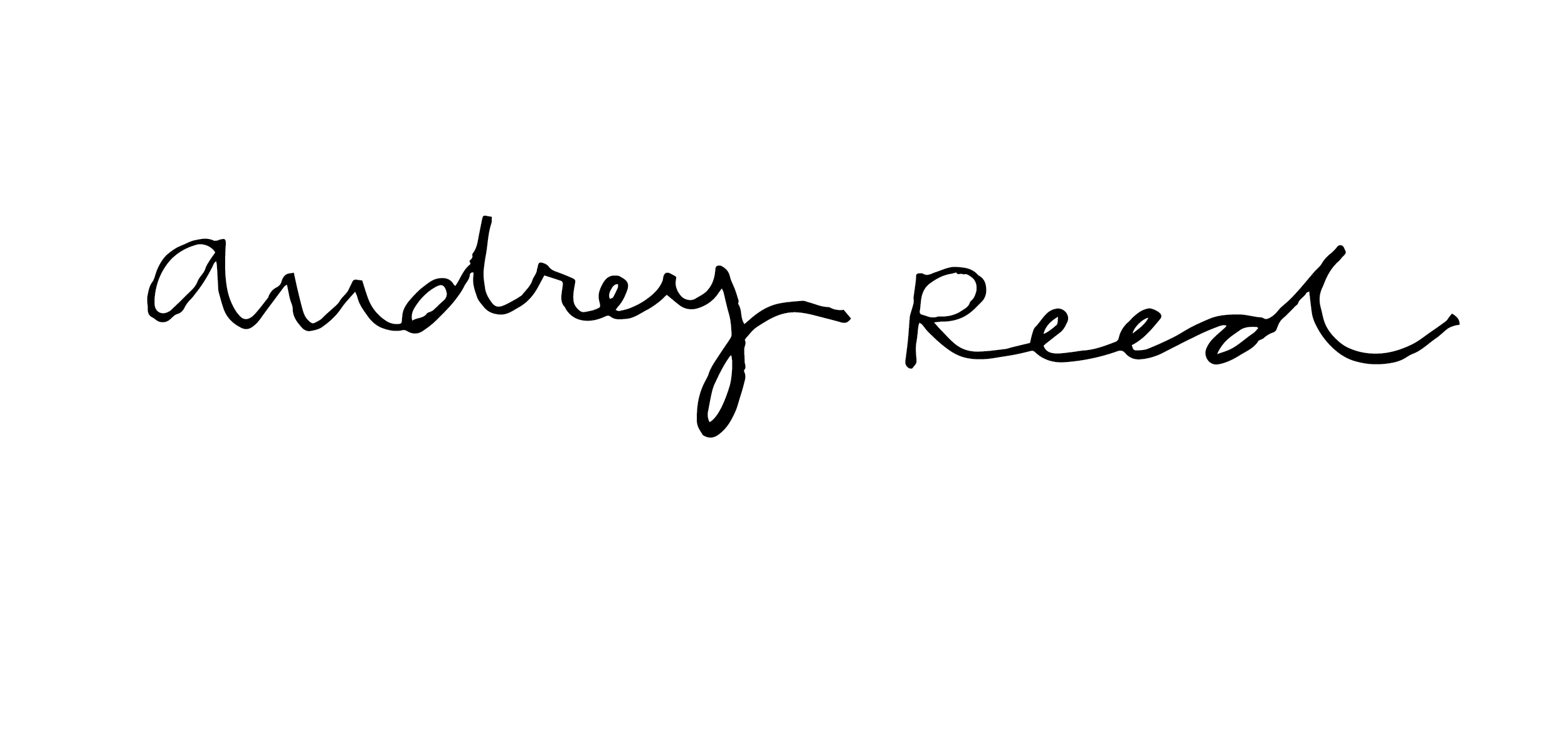 Audrey Reed's Signature