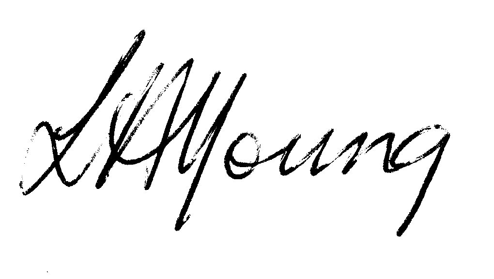Lynda Young's Signature