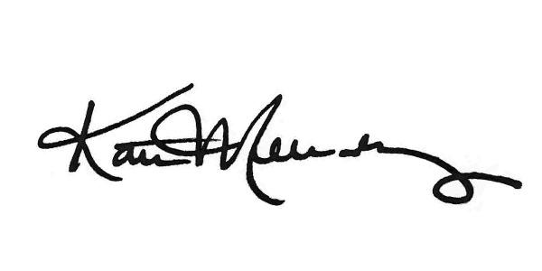 Kate Melendez's Signature