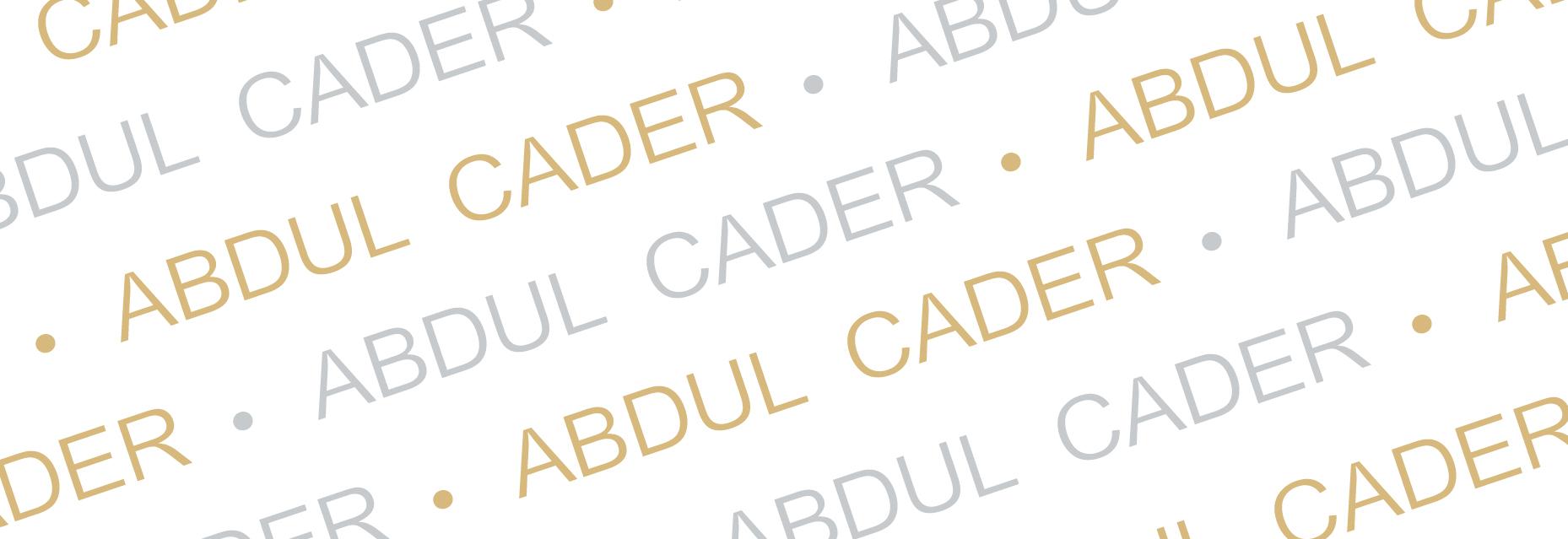 Abdul Cader's Signature