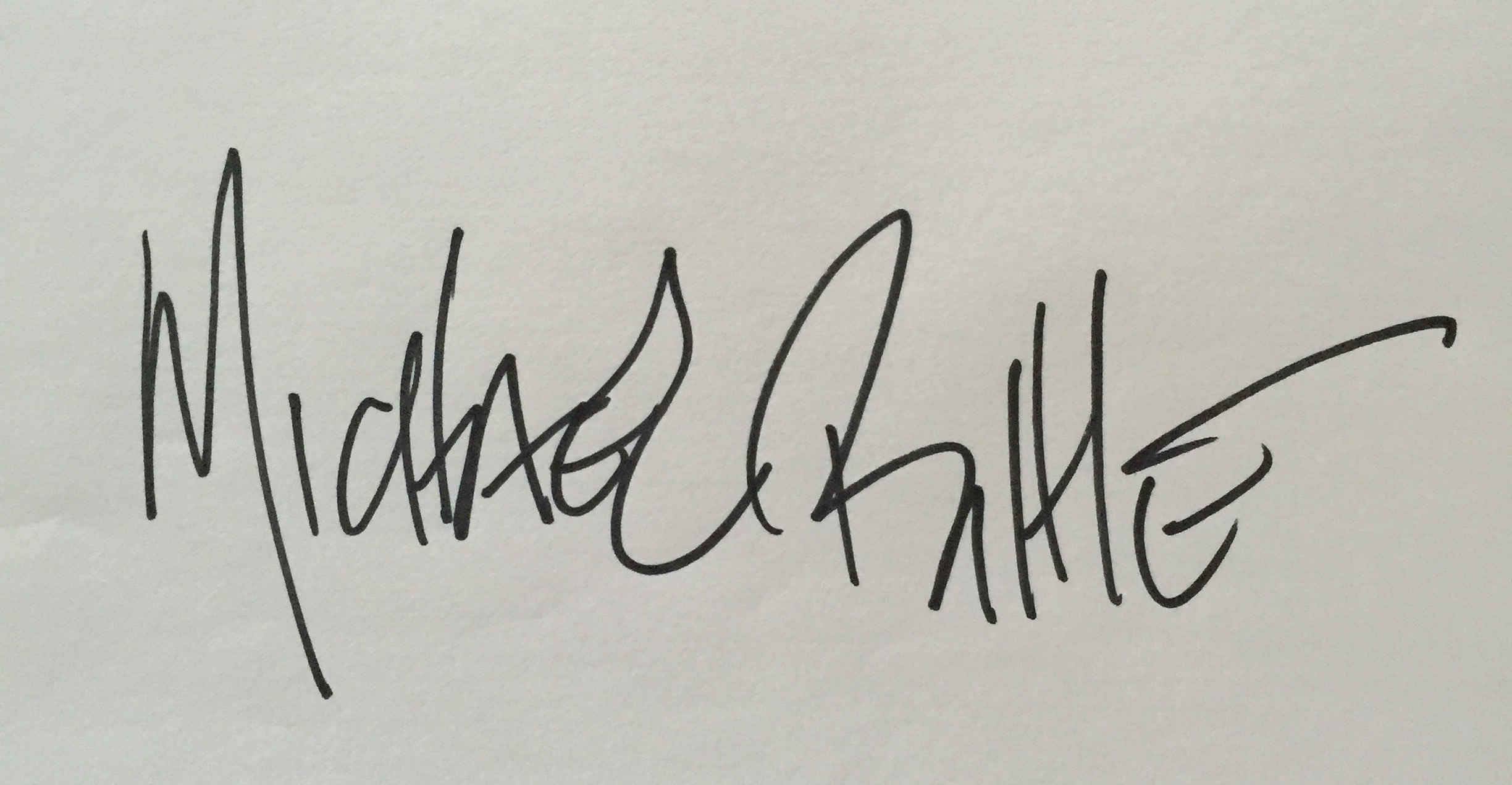 Michael Bittle's Signature