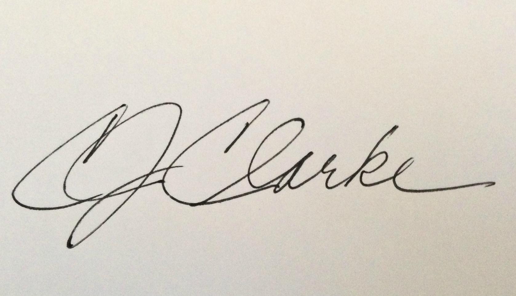 Cynde Clarke's Signature