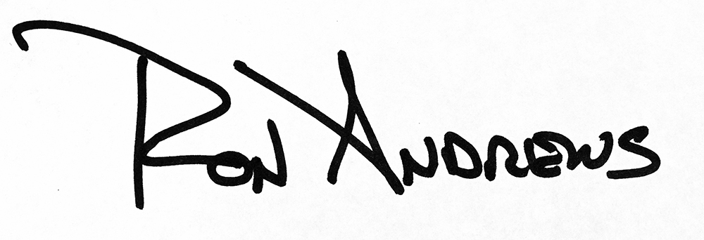 Ron Andrews's Signature