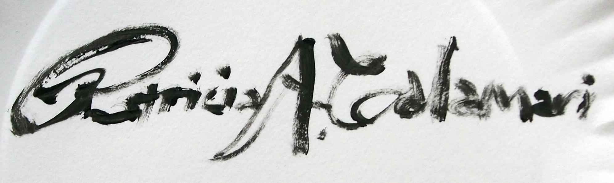 Patricia Calamari's Signature