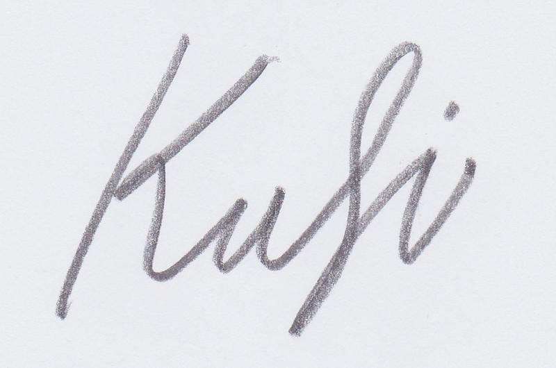 nedim kufi's Signature