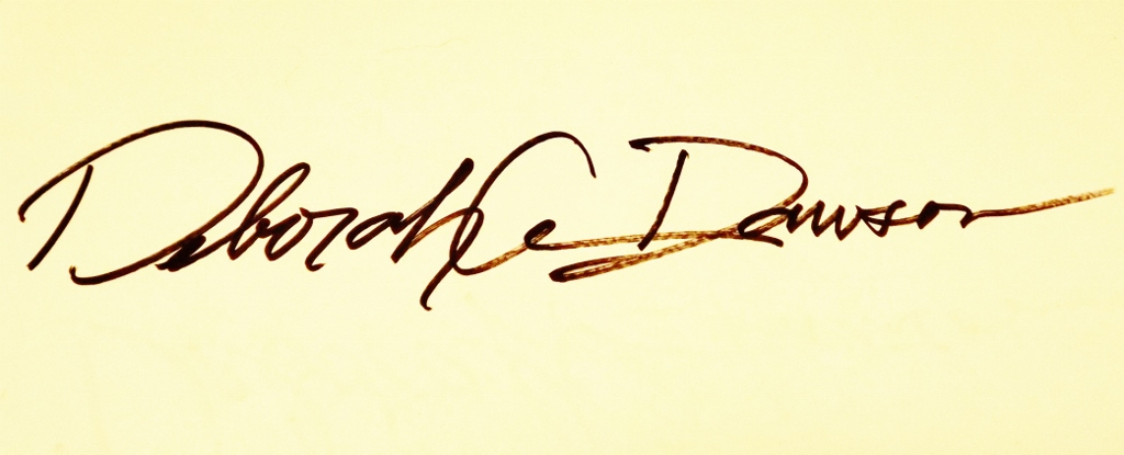 Deborah Dawson's Signature