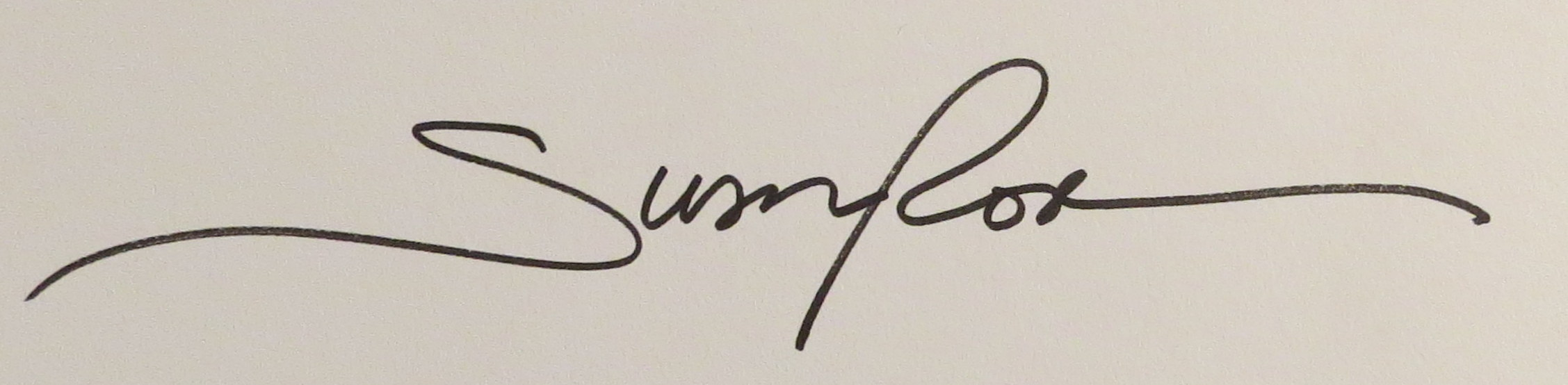 Susan Rose's Signature