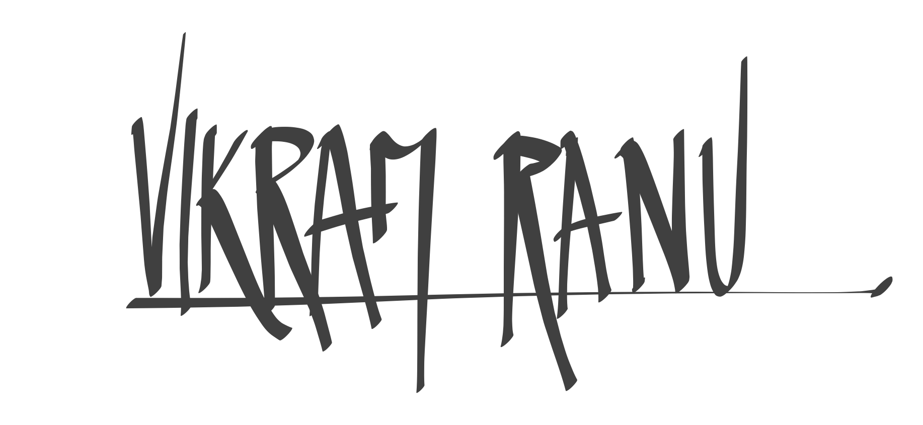 Vikram Ranu's Signature
