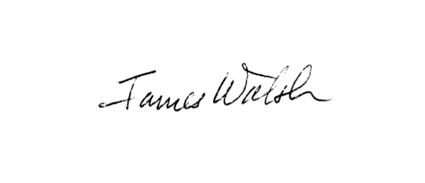 James Walsh's Signature