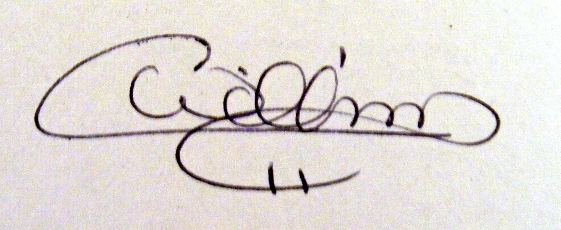 Cindy Williams's Signature