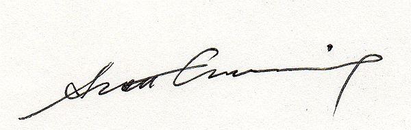 scott cumming's Signature