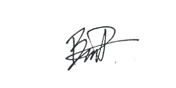 Benjamin Parnell's Signature