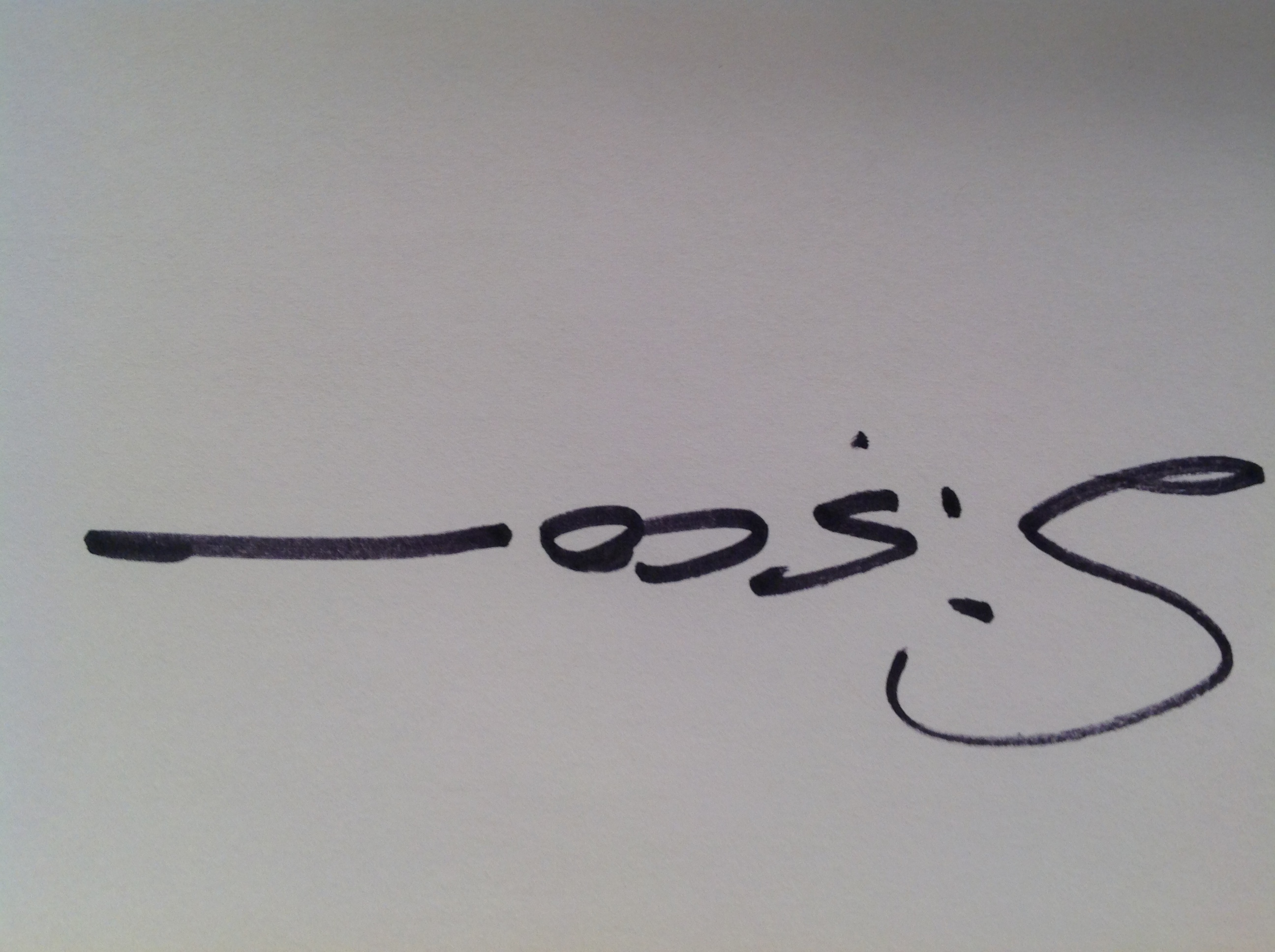 Kirk Sisco's Signature