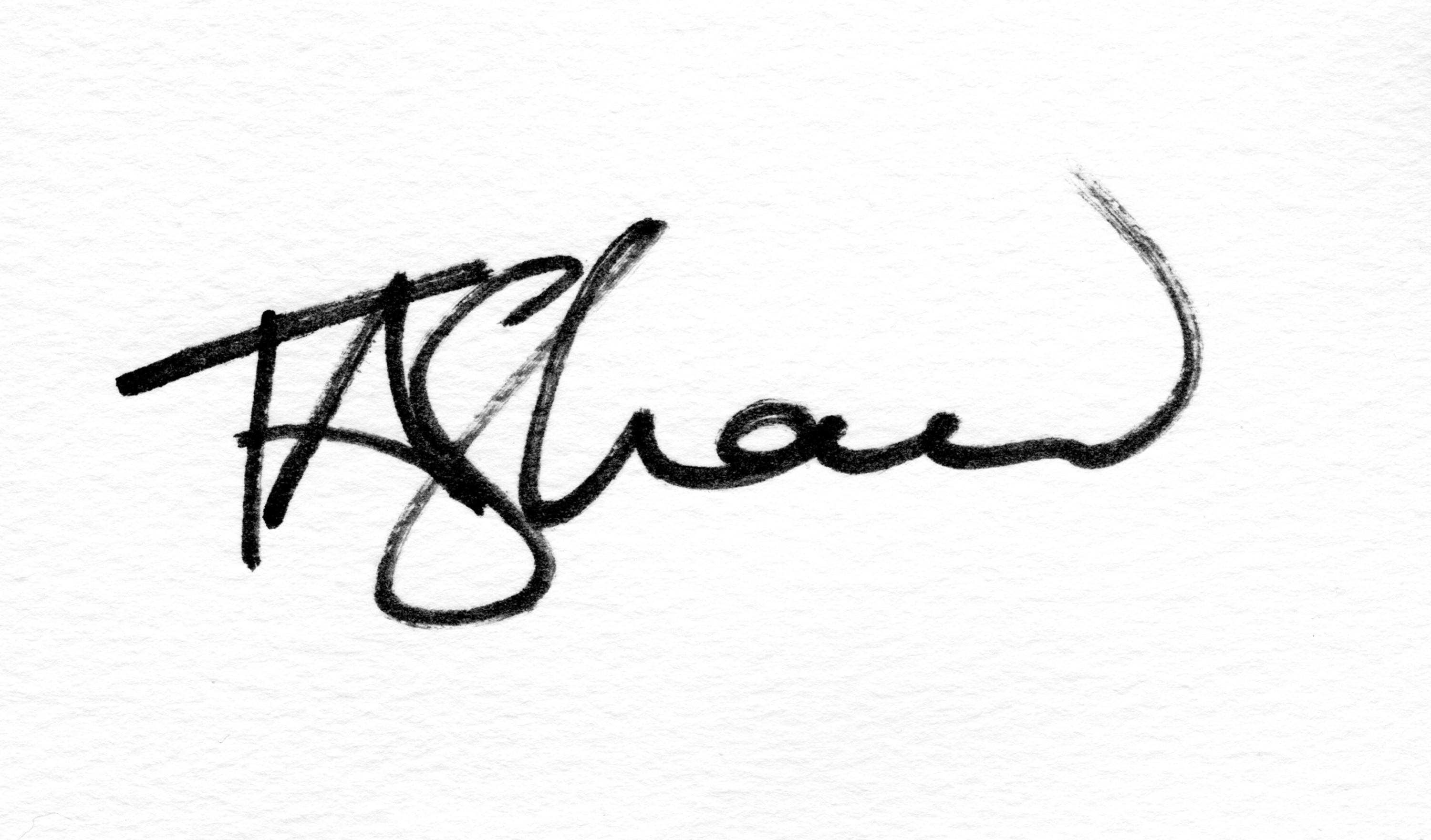 Theresa Shaw's Signature