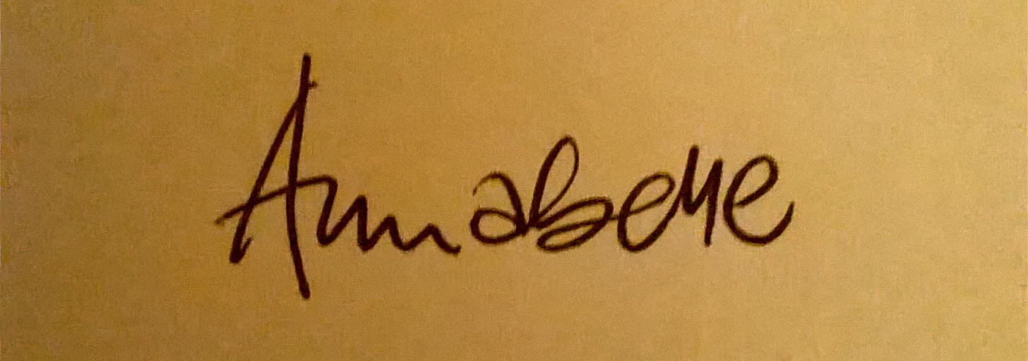 Annabelle Spencer's Signature