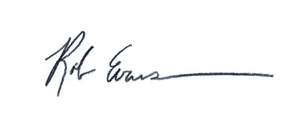 Rob Evans's Signature