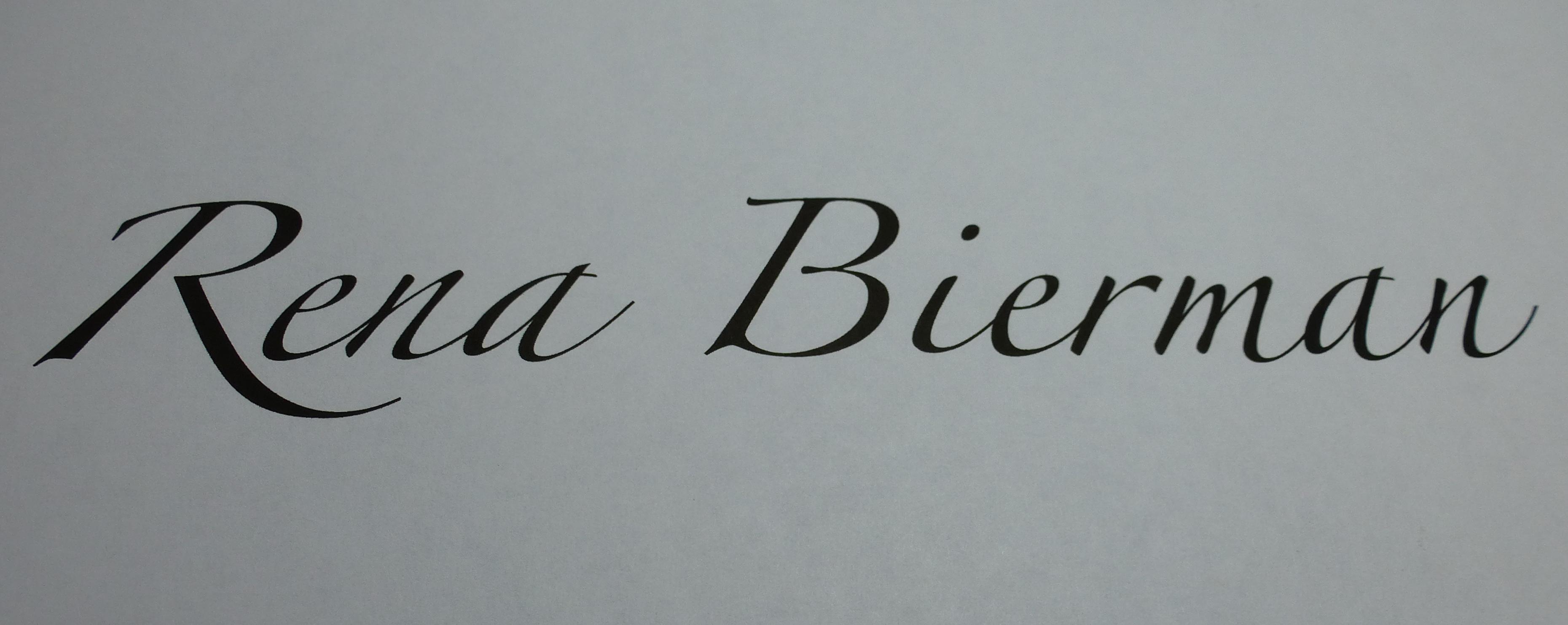 Rena Bierman's Signature