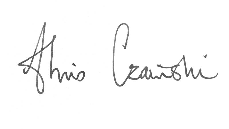 chris czainski's Signature
