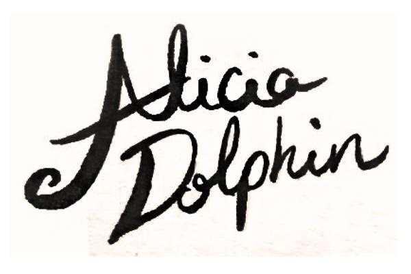 Alicia dOLPHIN's Signature