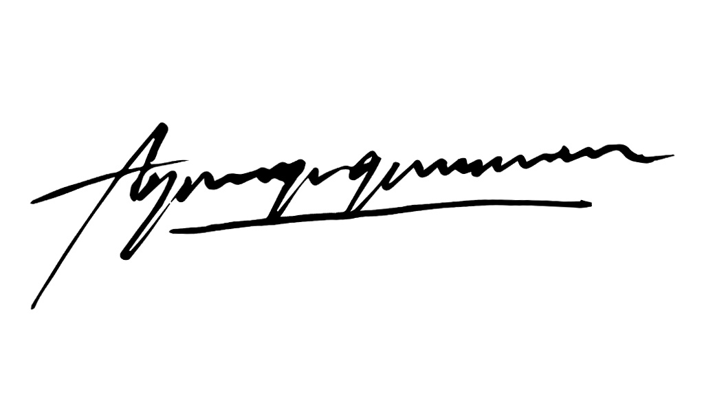 agung gunawan's Signature