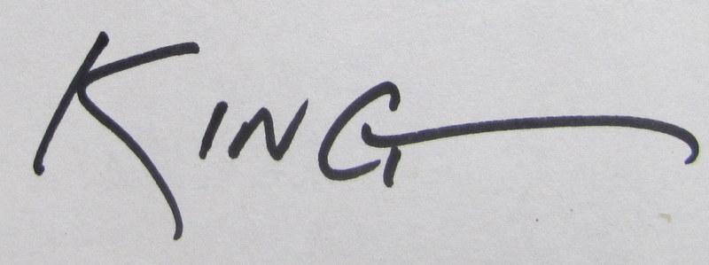Steve King's Signature