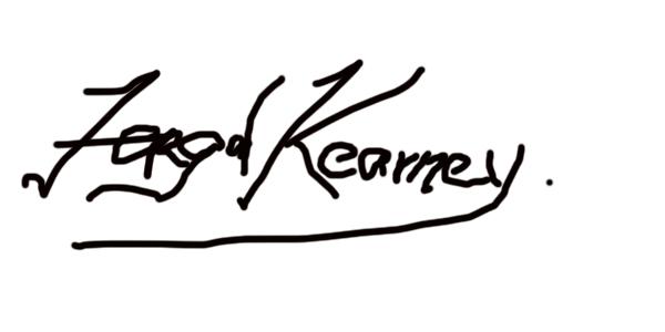 Fergal Kearney's Signature