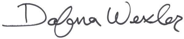 Dafna Wexler's Signature