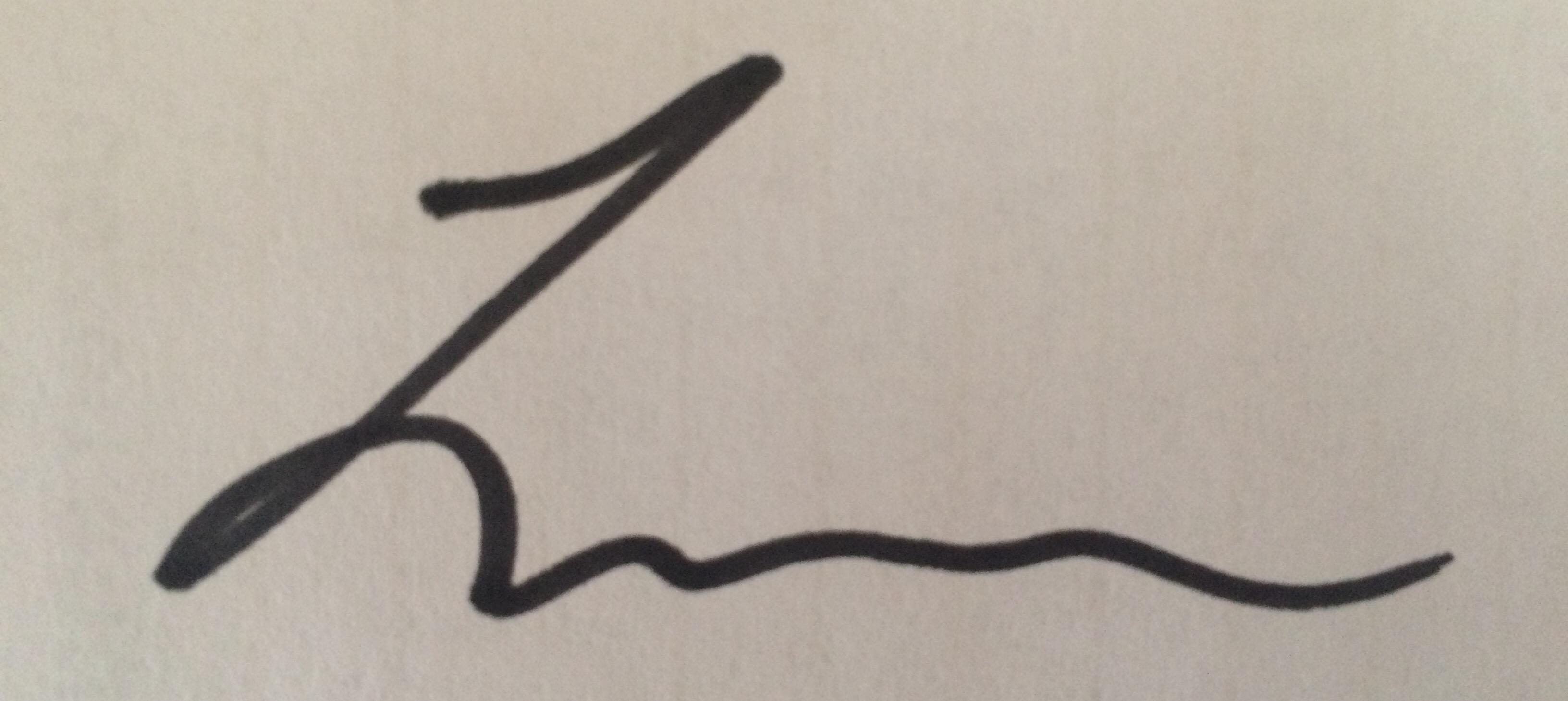 Lauren Stefaniuk's Signature