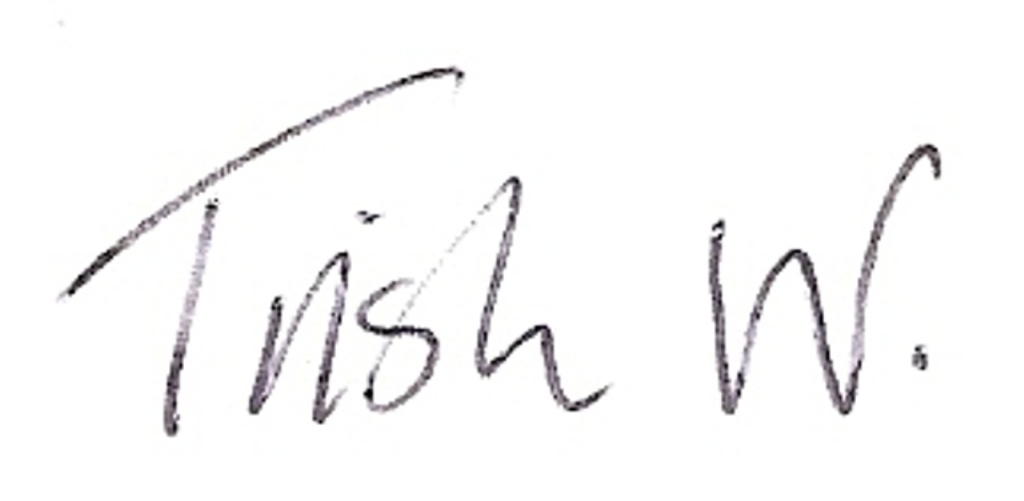 Trish Woods's Signature
