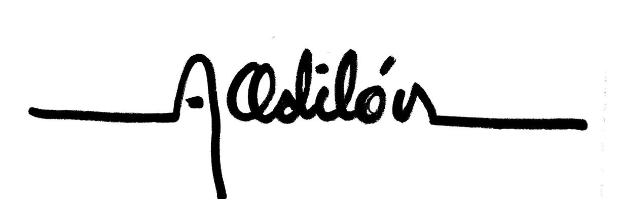 Arturo Odilón's Signature