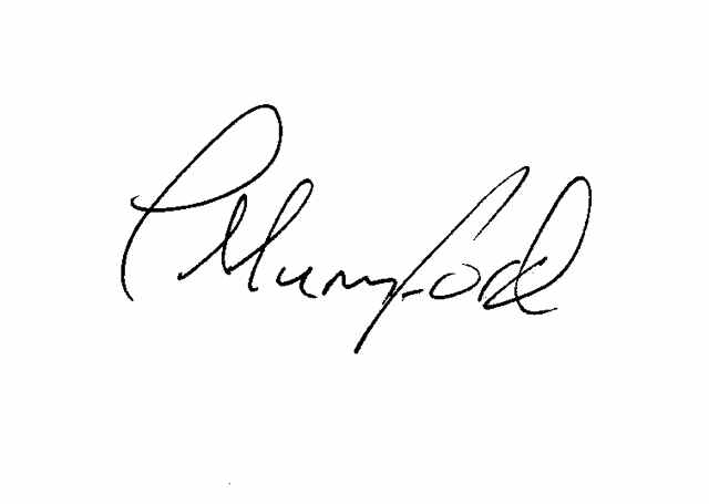 paul mumford's Signature