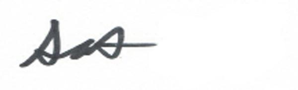 sANTO TRIPOLI's Signature