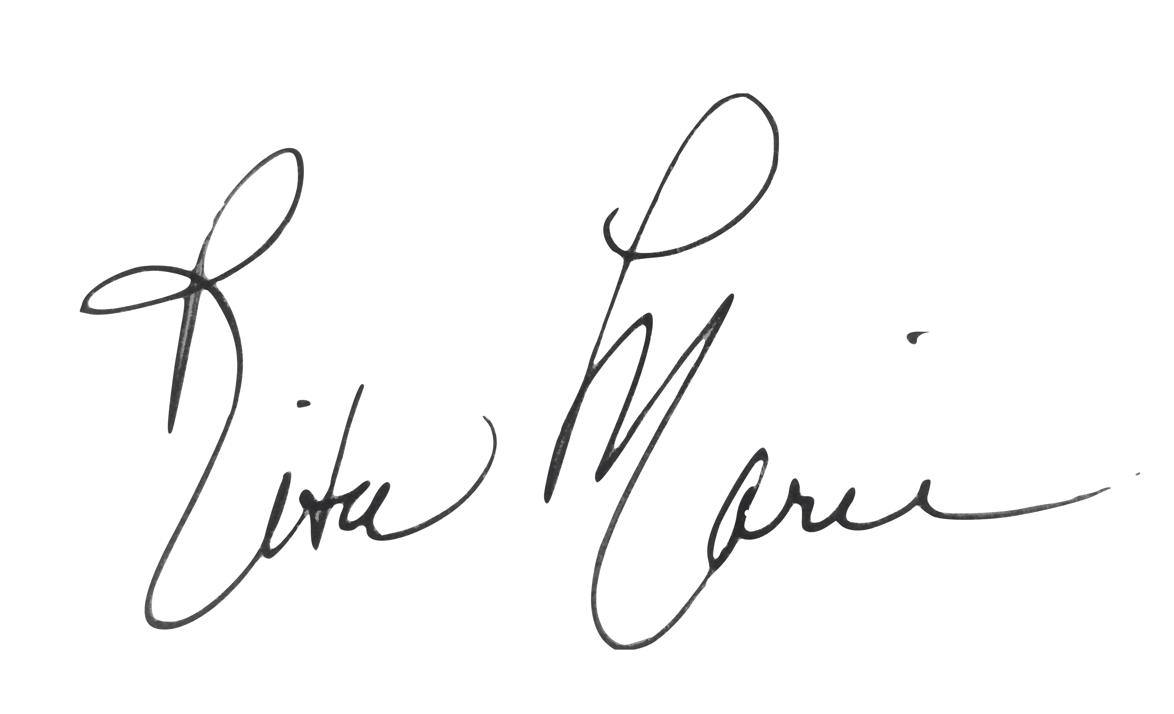 Rita Marie's Signature