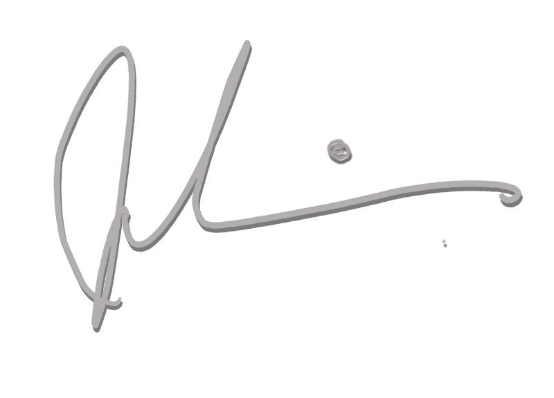 John Daniels's Signature