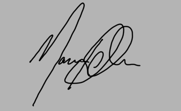 Marcus Richardson's Signature