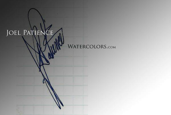 Joel Patience's Signature