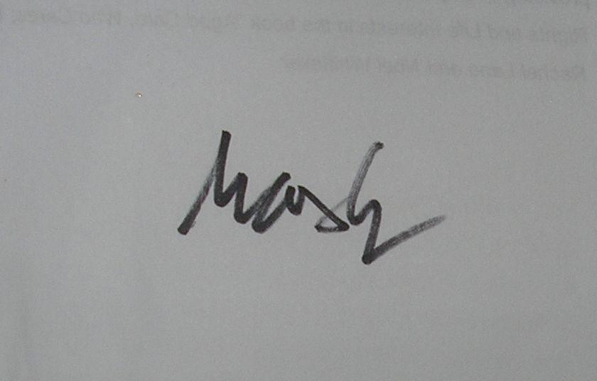 Max Gerreyn's Signature